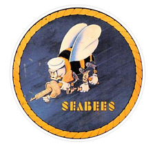 USN Seabee (M38) Navy Decal Sticker Car/Truck Laptop/Netbook Window