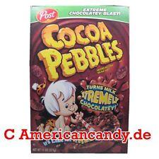 Offre : 1x 425g Post Chocolat Pebbles Cereals USA ( 23,51€/ kg)