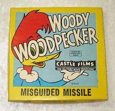 CASTLE FILMS WOODY WOODPECKER MISGUIDED MISSILE 8MM FILM MOVIE CARTOON