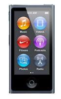 Apple iPod nano 7. Generation Schwarz(16GB) (aktuellstes Modell) (NEU)