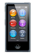 Apple iPod Nano 7. Generation Gris espacial (16gb) incl. AppleCare Protection Plan