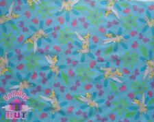 Disney Tinkerbell Peter Pan Classic Cotton Fabric by the Yard