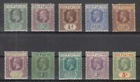 D3041/ BRITISH FIJI – 1903 / 1927 – MINT MH SEMI MODERN LOT – CV 110 $