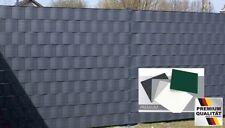 PREMIUM HART PVC Sichtschutzstreifen 1,35 mm Sichtschutz für Doppelstabmatten
