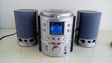 Mini Impianto stereo con CD Audio Radio Orologio