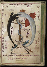 "The Key of Hell Cyprianus Black Magic 18th Century, 7x5"" Reprint Serpent Lizard"