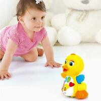 Huile Kids Toys Musical Duck Toy Lights Action with Adjustable Sound for Toddler