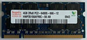 Hynix 4GB 1 X 4GB PC2-6400s DDR2-800 200pin SODIMM Laptop Memory RAM Upgrade