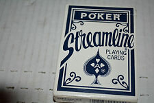 Streamline POKER Playing Cards NO.1 Plastic Coated Smooth finish US playing card