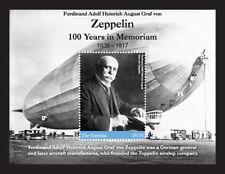 Gambia 2017 ZEPPELIN - 100 YEARS IN MEMORIAM I70197