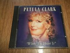 "PETULA CLARK "" WHERE THE HEART IS "" CD ALBUM - UK FREEPOST"
