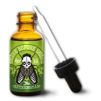 "GRAVE BEFORE SHAVE Beard Oil ""The Outdoorsman Blend"" *REPELS UNWANTED INSECTS!!"