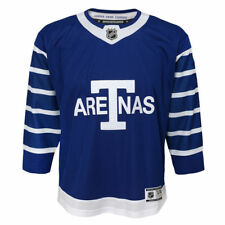 Youth L/XL Ages 14-18 Toronto Maple Leafs Arenas Blue Premier Hockey Jersey
