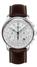 Relojes de pulsera automático Chrono de cuero