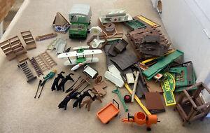 Job Lot Playmobil Plane ,Vehicle And Figure Accessories Etc