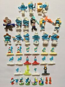 The Smurfs McDonald's and Kinder Surprise Toys Lot