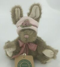 Boyds Bears Lucinda De La Fleur #91705 1999 6� Plush Bunny Pink Hat Easter Nwt