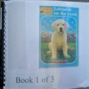 Labrador on the Lawn by Ben M. Baglio - in Braille for the Blind Children