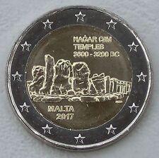 2 Euro Malta 2017 Hagar Qim unz.