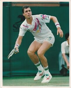 Tennis Colour Press Photo Ivan Lendl Wimbledon 1992