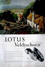 1952 LOTUS Veldtschoen Shoe Advert 'Selworthy' - Rowland Hilder Art Print AD