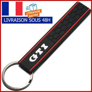Porte clé GTI noir NEUF - Livraison 48H - Golf - 205 - 208