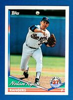 Nolan Ryan #34 (1994 Topps) 27 ML Seasons, Baseball Card, Texas Rangers, HOF