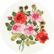Panna Ribbon Embroidery Kit - C-1181 The Beauty of Roses