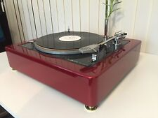 LENCO L75/78 Burgundy Red Plinth Zarge (without turntable!)