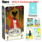 78x Modern Witch Tarot Cards Deck All Female Rider Waite Imagery Party Game Gift
