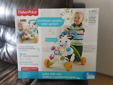FISHER PRICE Lern mit mir Zebra-Lauflernwagen, Baby Lauflernhilfe Laufwagen, neu