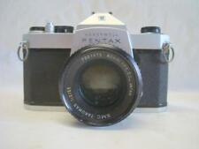 Asahi Pentax Honeywell Sp1000 35mm Camera w Asahi SMC Takumar 1:2/55 Lens + Case