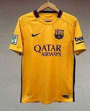 BARCELONA SPAIN 2015/2016 AWAY FOOTBALL SOCCER SHIRT JERSEY MAGLIA CAMISETA NIKE