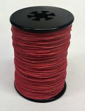 Red BCY Powergrip Serving Thread Jig Spool Bow String Bowstrings .018""