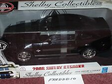 SHELBY COLLECTIBLES 2008 FORD MUSTANG SHELBY GT500KR COUPE 1/18 BLACK/BLACK