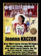Joanna Kaczor Foto Volleyball Polen Original Signiert + A 219845