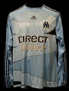 OLYMPIQUE MARSEILLE SHIRT JERSEY ADIDAS FORMOTION SOCCER PLAYER ISSUE FOOTBALL C