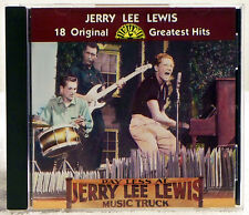 18 Original Sun Greatest Hits by Jerry Lee Lewis (CD, 1984 Rhino (Label))