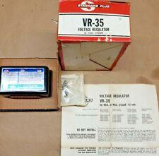 NOS Voltage Regulator Standard VR-35   12volt neg or pos gnd Hot Rat Rod Ford