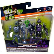 Ben 10 Ultimate Alien  Nanomech & Ultimate Spidermonkey Mini Action Figures