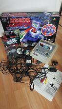 Super Nintendo SNES Konsole mit 2 Controllern und Spiel Super Mario World