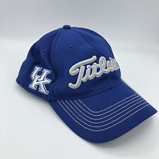 Titleist UK Kentucky Wildcats Performance FlexFit M-L Blue NCAA Golf Hat Cap