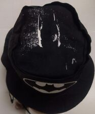 Vintage Batman Dc Comics Adult Large Fishing Bucket Cap Hat Rare Black Universal