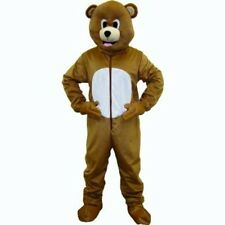 Dress Up America Brown Bear Mascot - Size Adult 593-ADULT Costume NEW