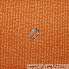 BonEful Fabric FQ Cotton Quilt Orange Dot Stripe Calico Sm Tiny Little Baby Boy