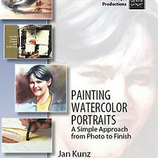 NEW DVD: PAINTING WATERCOLOR PORTRAITS: A Simple Approach from Photo to Finish