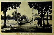 Cartolina Formato Piccolo - San Maurizio Canavese - Via Olivari Viaggiata