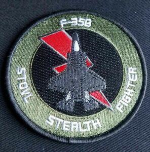 USMC Marine Corps Lockheed Martin F-35B STOVL STEALTH FIGHTER jet military PATCH