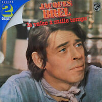 Jacques Brel ‎– La Valse A Mille Temps 2 × Vinyl, LP, Compilation, Reissue