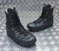Genuine British Army Alt-Berg Combat Leather Assault / Patrol Combat Boots BLACK